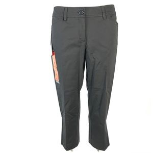 Dalia straight leg cropped pants